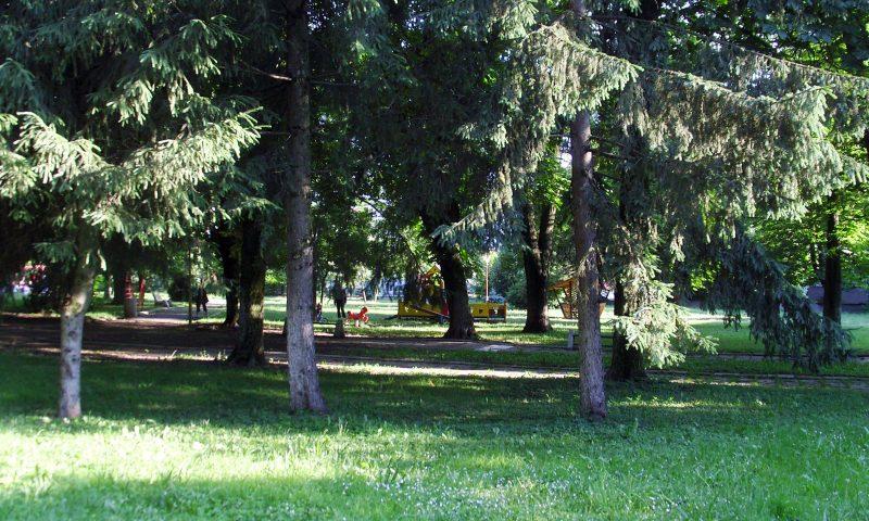 Градският парк е примамлив под слънчевите лъчи