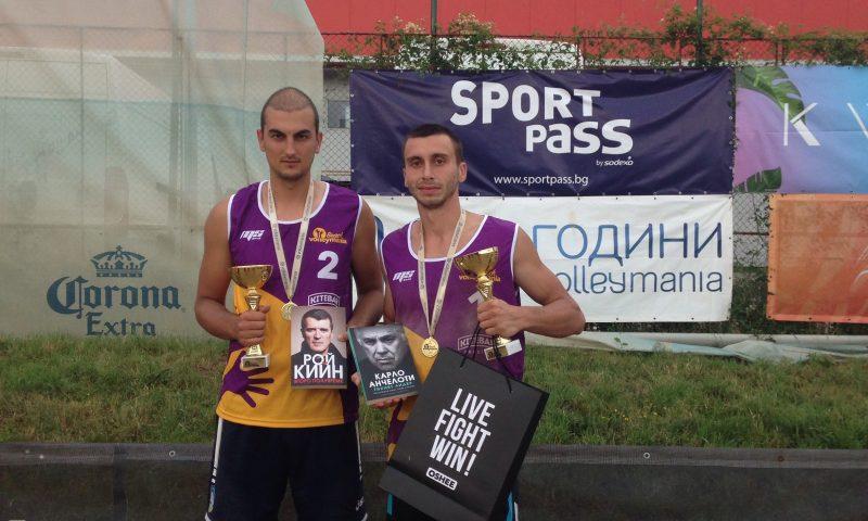 Бонжолов и Славков спечелиха първия турнир от Beach Volley Mania 2018