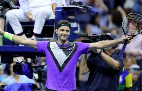 Гришо размаза Федерер