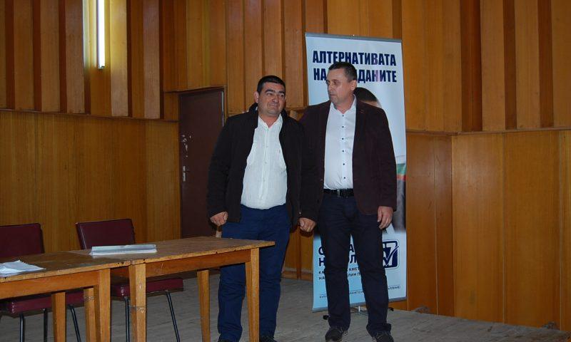 Препълнена зала посрещна кандидат-кмета Стефан Николов в с. Петково