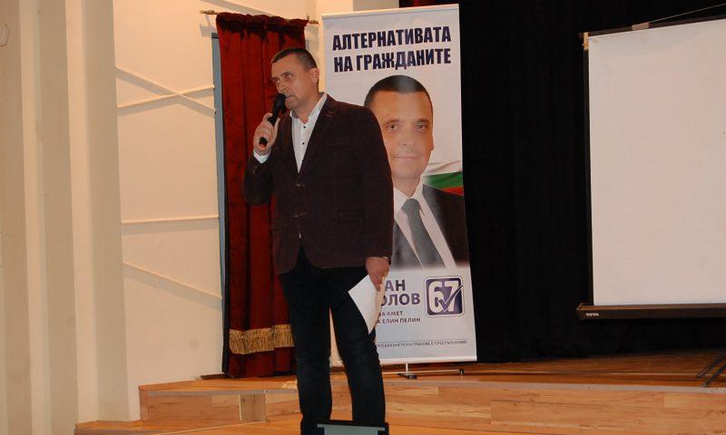 """Стефан Николов в Габра: """"Не деля населените места на """"наши"""" и """"ваши"""", защото сме една община, един народ"""""""