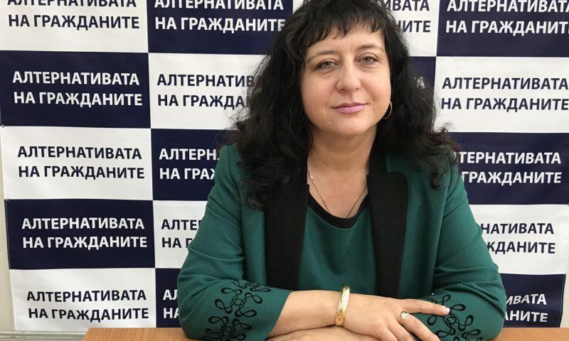 """Христина Христова – кандидат за общински съветник от листата на Коалиция """"Алтернативата на гражданите"""" №67"""