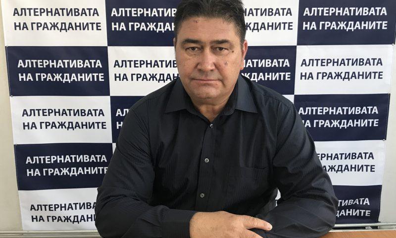 """Иван Стоянов – кандидат за общински съветник от листата на Коалиция """"Алтернативата на гражданите"""" №67"""