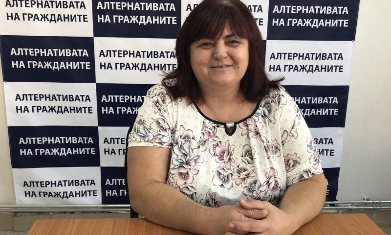 """Полина Николова – кандидат за общински съветник от листата на Коалиция """"Алтернативата на гражданите"""" №67"""
