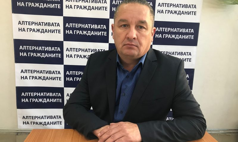 """Красимир Ликов – кандидат за общински съветник от листата на Коалиция """"Алтернативата на гражданите"""" №67"""