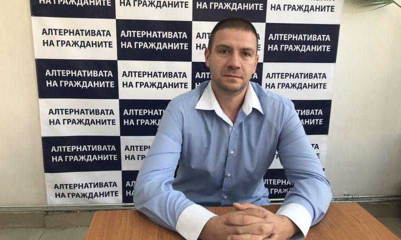 """Николай Цветков – кандидат за общински съветник от листата на Коалиция """"Алтернативата на гражданите"""" №67"""