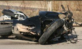 29-годишен мотоциклетист пострада при катастрофа